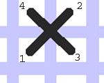 3fc9e4e820 Tehát először megvarrjuk az x első szárát, majd egyből ráöltjük a  keresztező másik szárát. Aztán készítjük a következő szemet. Ilyenkor arra  kell figyelni, ...