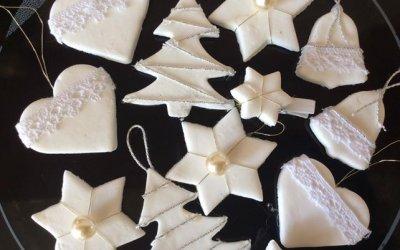 Karácsonyfadísz készítése házilag