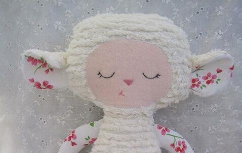 Húsvéti dekoráció házilag-bárány